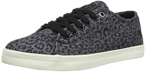Gola Women's Jasmine Leopard CLA485 Fashion Sneaker, Grey, 9 M US