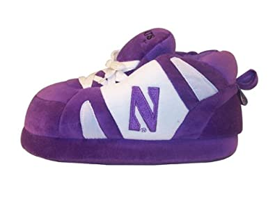 Buy Happy Feet - Northwestern Wildcats - Slippers by Comfy Feet