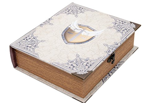 Grimoire Deck Box, Righteous   Wooden and Fabric Lined Deck Box for MTG, YuGiOh, and Other TCG (Yugioh Display Case compare prices)