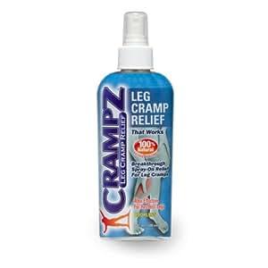 Leg Cramp Relief Spray by EasyComforts 4 oz