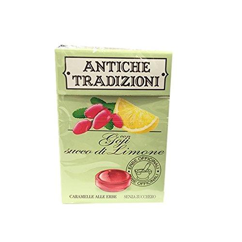 Perfetti Van Melle Antiche Tradizioni Caramelle Goji Succo Di Limone 43 g