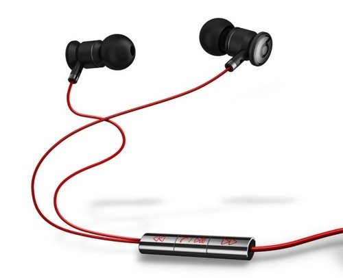 Official Beats By Dr. Dre 3.5Mm In Ear/Earbuds Stereo Headset For Htc Red