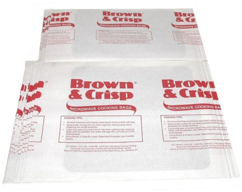Bulk Pack Of 120 Microwave Oven ~ Brown and Crisp ~ Cooking Bags (Oven Bags Small compare prices)