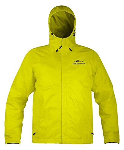 Grunden's Men's Gage Weather Watch Jacket, Hi Vis Yellow, X-Large (Fishing Jacket Waterproof compare prices)