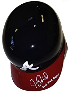 Joey Terdoslavich Signed Atlanta Braves Rawlings Batting Helmet 2013 MLB Debut -... by Sports Memorabilia