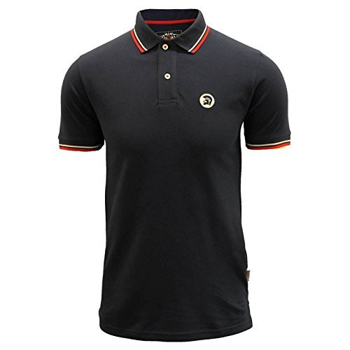 trojan-records-mens-navy-polo-shirt-tr-8117-2xl