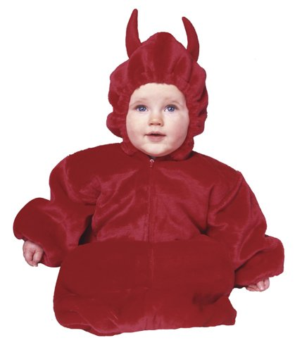 My Little Devil Baby Bunting Costume - 1