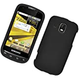 Eagle Cell Hard Rubber Snap-On Case for Samsung Transform Ultra SPH-M930 - Retail Packaging - Black
