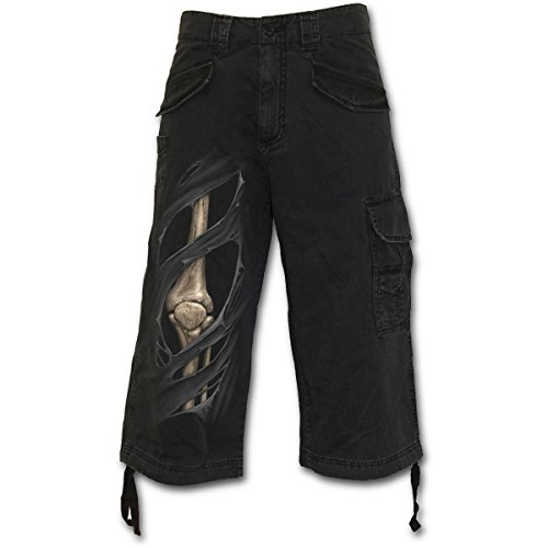 Spiral Bone Rips Pantaloncini Vintage nero M