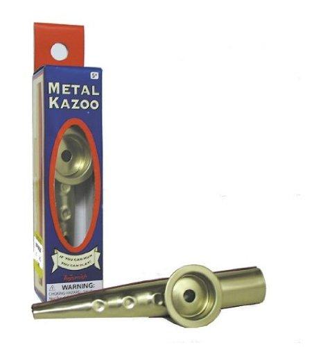 Toysmith Metal Kazoo (4.75-Inch) - 1