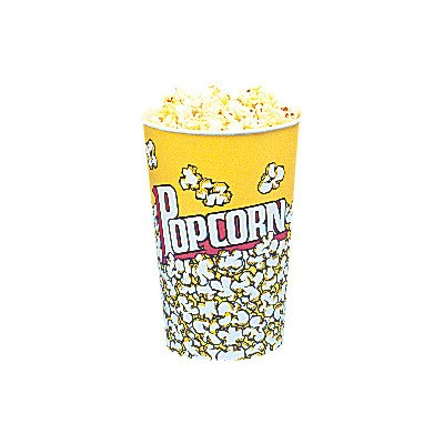 Snappy Popcorn 24oz Yellow Popcorn Cups, 50 Count, 3 Pound (24 Oz Popcorn Cups compare prices)