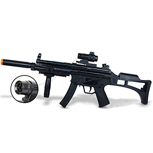 Kidslove Long Boys Simulation Toy Guns Infrared Shock Light Eight-tone Guns Children's Electric (Toy Assault Rifle With Bullets compare prices)