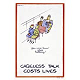 Careless talk costs lives (V&A Custom Print)