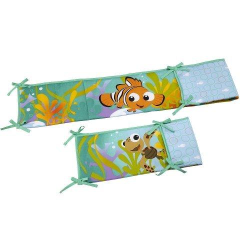 Disney Baby Finding Nemo Secure Me Crib Bumper - 1