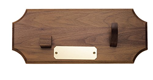 Case Cutlery Presentation Plaque Walnut