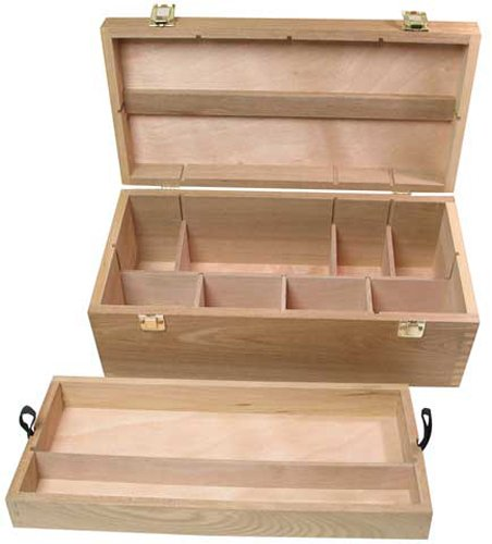 Art Alternatives Wood Box Supply Chest (Chest Wood compare prices)