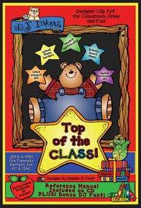 Top Of The Class Clip Art CD