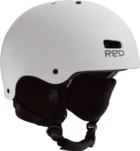 Red Trace Men's Helmets - White, X-Large