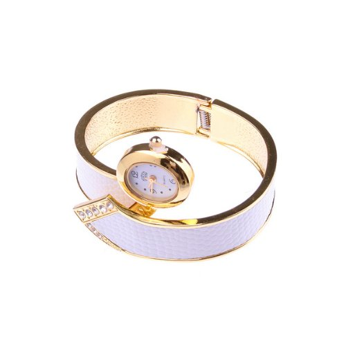 Bestdealusa White Special Fashion Girl Lady Women Wrist Bracelet Watch New