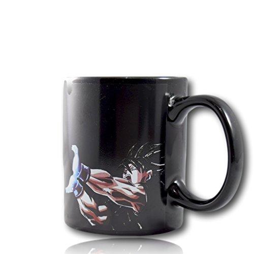 Tasse magique couleur changeante Goku Dragon Ball Z Vanessa mug tasse à café tasse la chaleur réactive DBZ