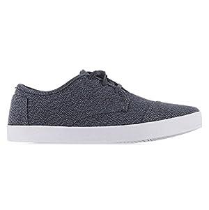 Toms Men's Paseo Casual Shoes Castlerock Grey/Light Grey Woven 12 D(M) US