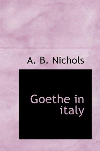 Goethe in Italy