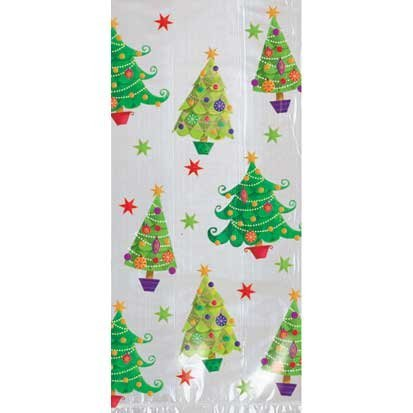 Contemporary Tree Large Party Bags 20ct