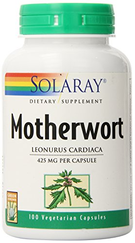 Solaray Motherwort Supplement, 425 mg, 100 Count (Motherwort Extract compare prices)