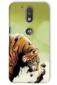 IndiaRangDe Hard Back Cover FOR Motorola Moto G Plus 4th Generation Moto G4 Plus