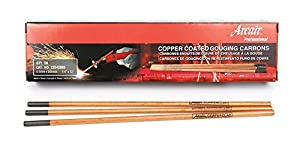 Victor Arcair 22043003 Gouging Electrodes DC Pointed Copper Clad, 1/4 x 12-Inch, 50-Pack