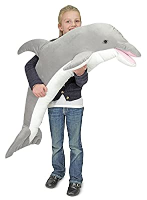 Melissa & Doug Dolphin Plush Toy