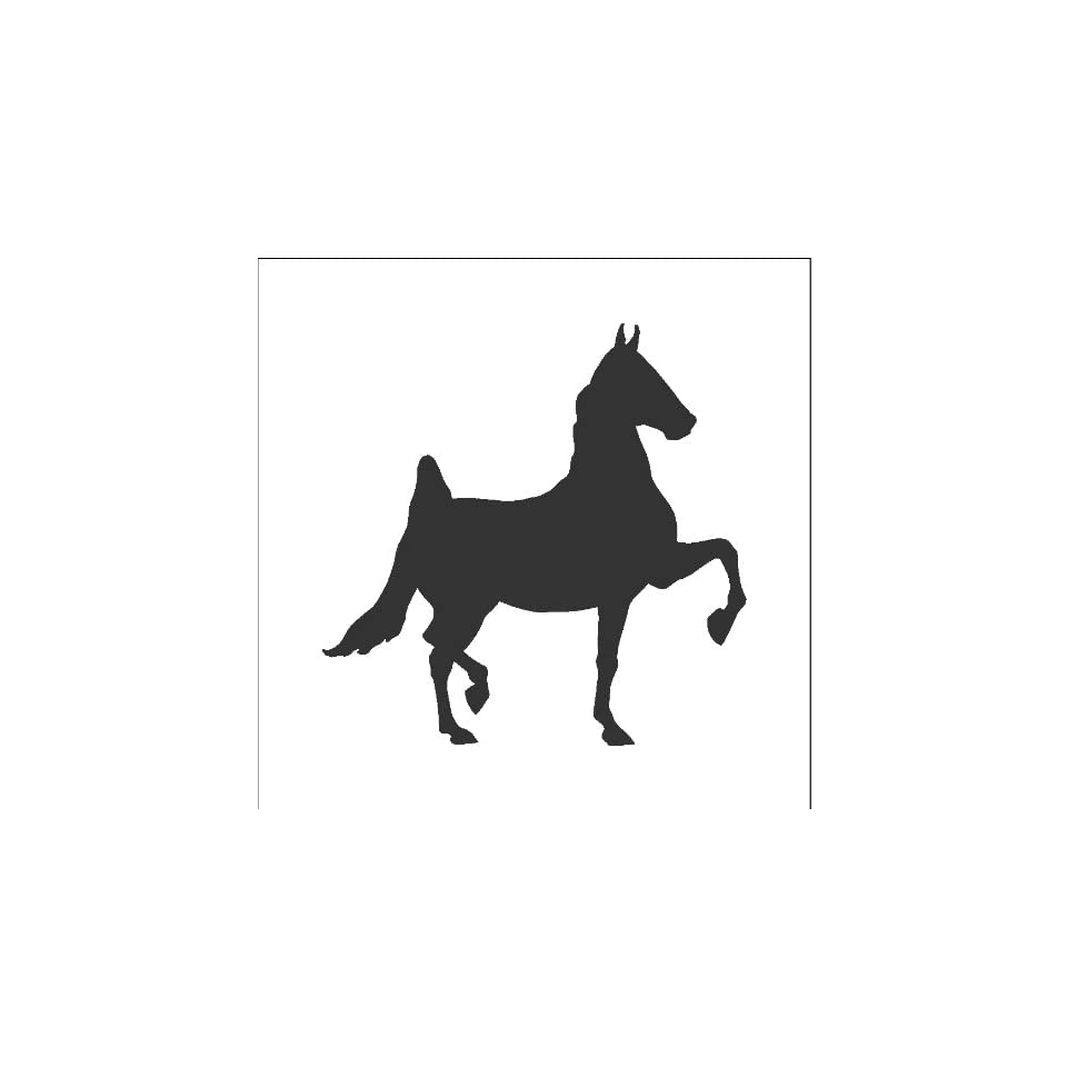 Chalkboard Vinyl Horse Wall Decals Stickers Removable and Repositionable Wall Art