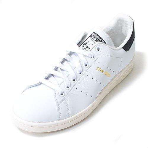 adidas ORIGINALS(アディダス オリジナルス) スニーカー スタンスミス STAN SMITH メンズ レディース 24.0cm ホワイト/ブラック stan-smith-b-240-S75076