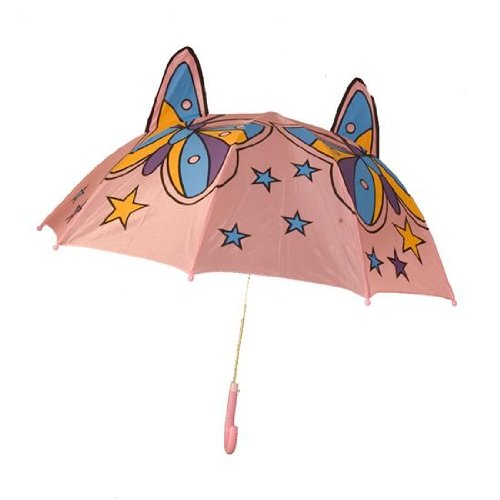 Girls Butterfly Umbrella