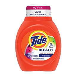 Tide Liquid Laundry Detergent With Bleach Alternative Vivid White & Bright (Pack of 6)