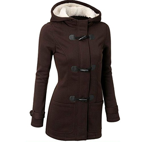 culaterr-donne-windbreaker-outwear-calda-lana-slim-cappotto-giacca-lunga-trincea-m-caffe