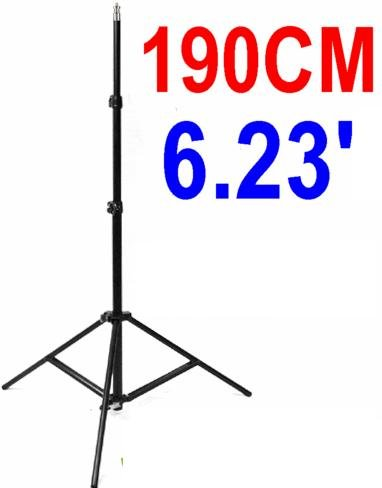 Light Stand (Photography/Video) For Studio or On-Site Photo Equiment: Umbrella, Softbox, Lighting, Etc!