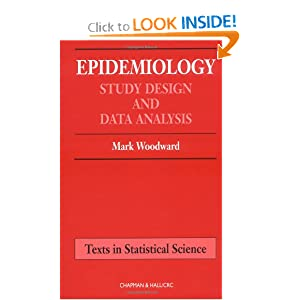Epidemiology: Study Design and Data Analysis  by M. Woodward