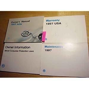 1997 VW Volkswagen Jetta Owners Manual: Volkswagen: Amazon.com: Books