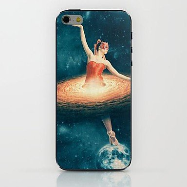 Red Dress Girl Pattern Hard Case For Iphone 6