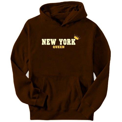 New York Queen Mens Hoodie