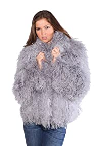 Women's Tibet Lamb Fur Coats