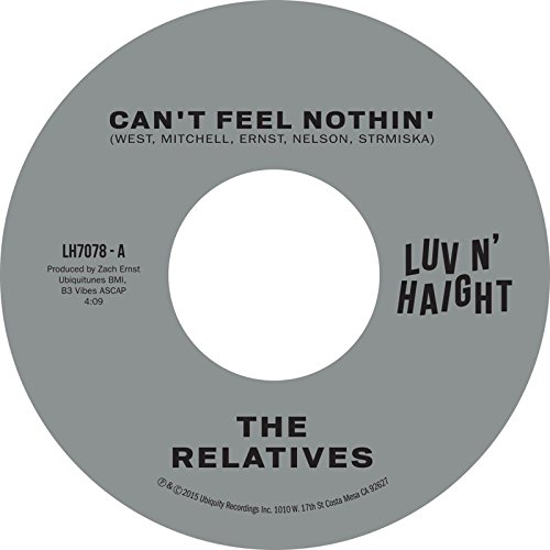 Vinilo : RELATIVES - Can't Feel Nothin / No Man Is An Island