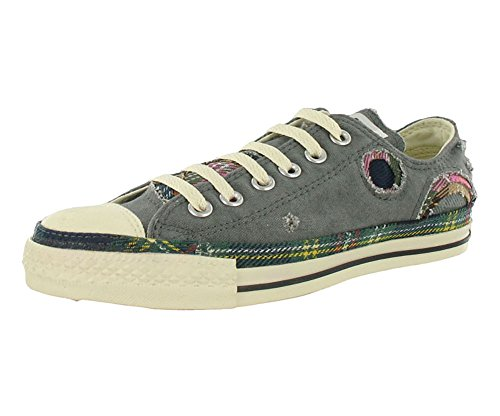 Converse Chuck Taylor All Star Lo Top Patchwork Charcoal Shoes 102091F men's 5/women's 7 (Converse Work Shoes compare prices)