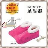 KOIZUMI 【つま先まであたたかい!】電気足温器 ピンク KDF-4010/P