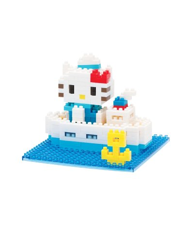 Nanoblock Hello Kitty Sea Cruise - 1