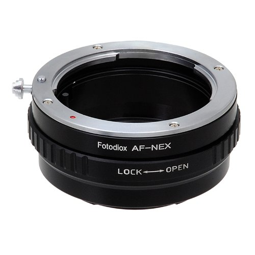 Minolta AF A-type Lens to Sony Alpha Nex E-mount Camera Adap