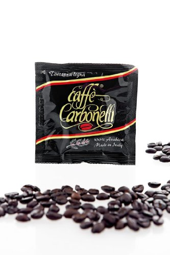 Get Coffee Pods ESE - 100% Arabica - Wood-Fire Roasted (100 pods) - Carbonelli