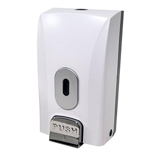wall-mounted-soap-dispenser-1-litre-capacity-bulk-fill-lockable-takes-soap-sanitiser-shower-gel-sham