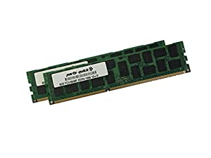 16GB 2 X 8GB Memory for Dell PowerEdge T310 Quad Rank ECC Registered DIMM (PARTS-QUICK BRAND)
